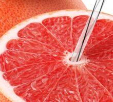 Grapefruit juice Sticker