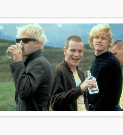 Trainspotting Sticker