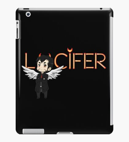 Lucifer Morningstar iPad Case/Skin