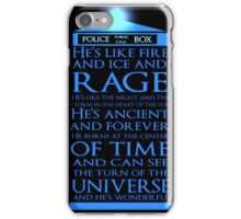 Police Public Call Box - Tardis Travel iPhone Case/Skin