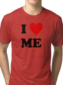 I Love Me Heart Tri-blend T-Shirt