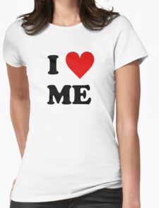 I Love Me Heart Womens Fitted T-Shirt