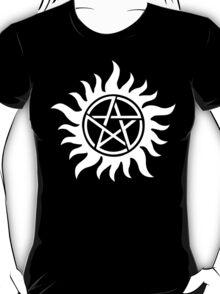 Anti-Possession Tattoo Symbol White Version - Supernatural Inspired T-Shirt