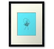 alive morty Framed Print