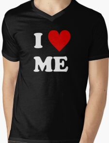 I Love Me Heart Mens V-Neck T-Shirt