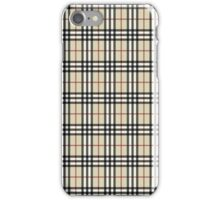 Burberry pattern phone cases iPhone Case/Skin