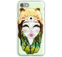 The Forest Alien Princess iPhone Case/Skin
