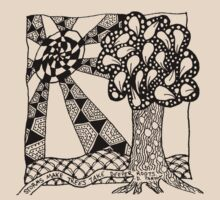 Rooted Tree by Sparrow Rose Jones