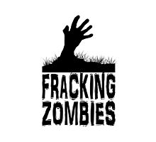Z Nation: Fracking Zombies Photographic Print