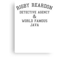 Rigby Reardon Detective Agency Canvas Print