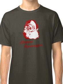 Happy Kwanzaa Christmas Santa Claus Classic T-Shirt