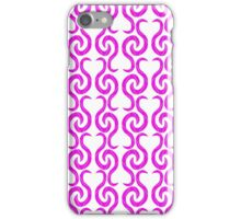 Magenta pattern iPhone Case/Skin