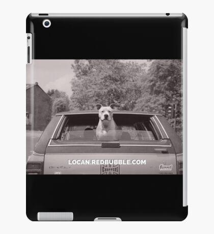pit bull bye bye iPad Case/Skin
