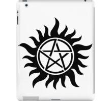 Supernatural inspired Anti-Possession Symbol Tattoo iPad Case/Skin