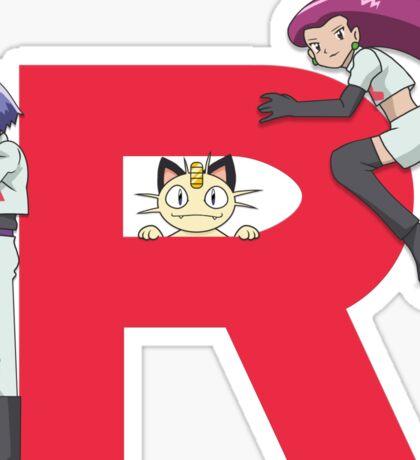 Team Rocket - Pokémon Sticker