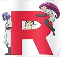 Team Rocket - Pokémon Poster