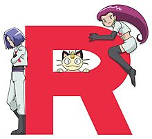 Team Rocket - Pokémon Photographic Print