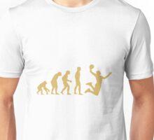 Evolution To Basketball Dunking  Unisex T-Shirt