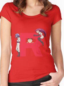 Team Rocket - Pokémon Women's Fitted Scoop T-Shirt