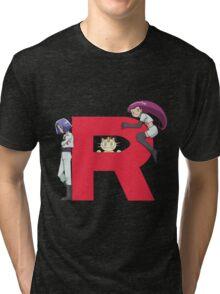 Team Rocket - Pokémon Tri-blend T-Shirt