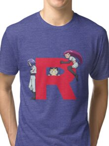 Team Rocket - Pokémon Tri-blend T-Shirt