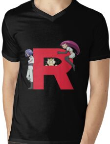 Team Rocket - Pokémon Mens V-Neck T-Shirt