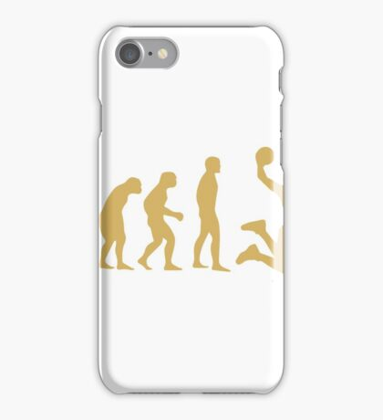 Evolution To Basketball Dunking  iPhone Case/Skin