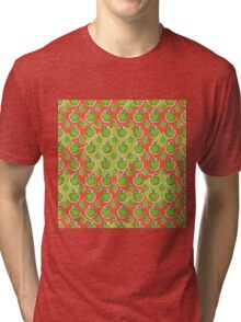 Big fresh green apple Tri-blend T-Shirt