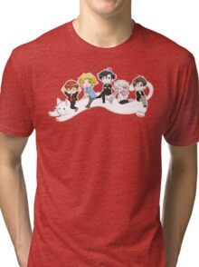 Mystic Messenger Longcat Tri-blend T-Shirt