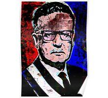 Salvador Allende Gossens Poster