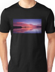 Vivid Orange Sunrise Reflections Unisex T-Shirt