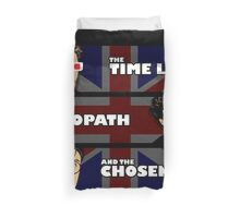The Time Lord, The sociopath, and the chosen one Duvet Cover