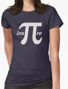 Inspire Inspirational Pi Symbol Womens Fitted T-Shirt