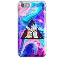 Trippin Rick! iPhone Case/Skin