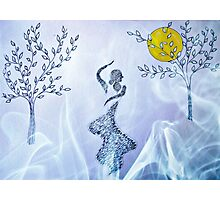 Dancing in the moonlight Photographic Print