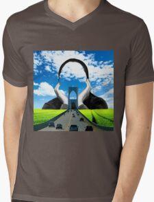 Quite Storm Mens V-Neck T-Shirt