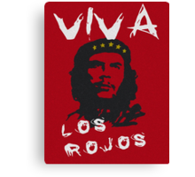CHE GUEVARA - THE RED Canvas Print