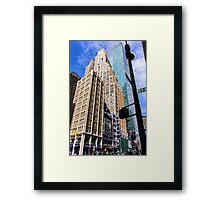 The Colors of Broadway I Framed Print