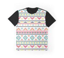 Aztec Pattern Graphic T-Shirt