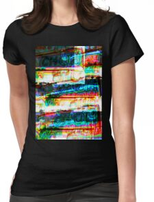Oh-Oh (Overlays) Womens Fitted T-Shirt