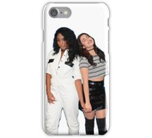 Lauren Jauregui & Normani Kordei (white background) iPhone Case/Skin