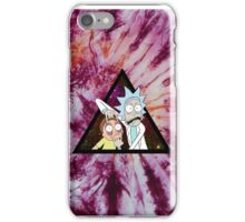 Trippin Rick 3! iPhone Case/Skin