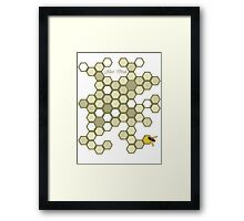 HIVE MIND Framed Print