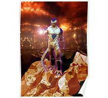 Aliens Frieza Perfect Form Poster