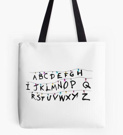 Stranger Things Retro Lights Tote Bag