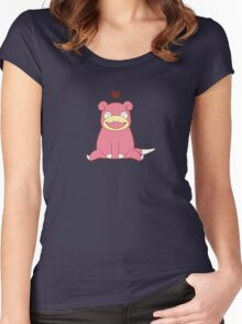 Slowpoke Love Women's Fitted Scoop T-Shirt