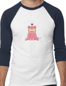 Slowpoke Love Men's Baseball ¾ T-Shirt