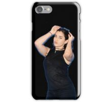 Lauren Jauregui (black background) iPhone Case/Skin