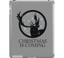 Christmas is Coming #2 iPad Case/Skin