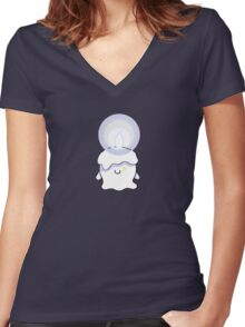 Litwick Women's Fitted V-Neck T-Shirt